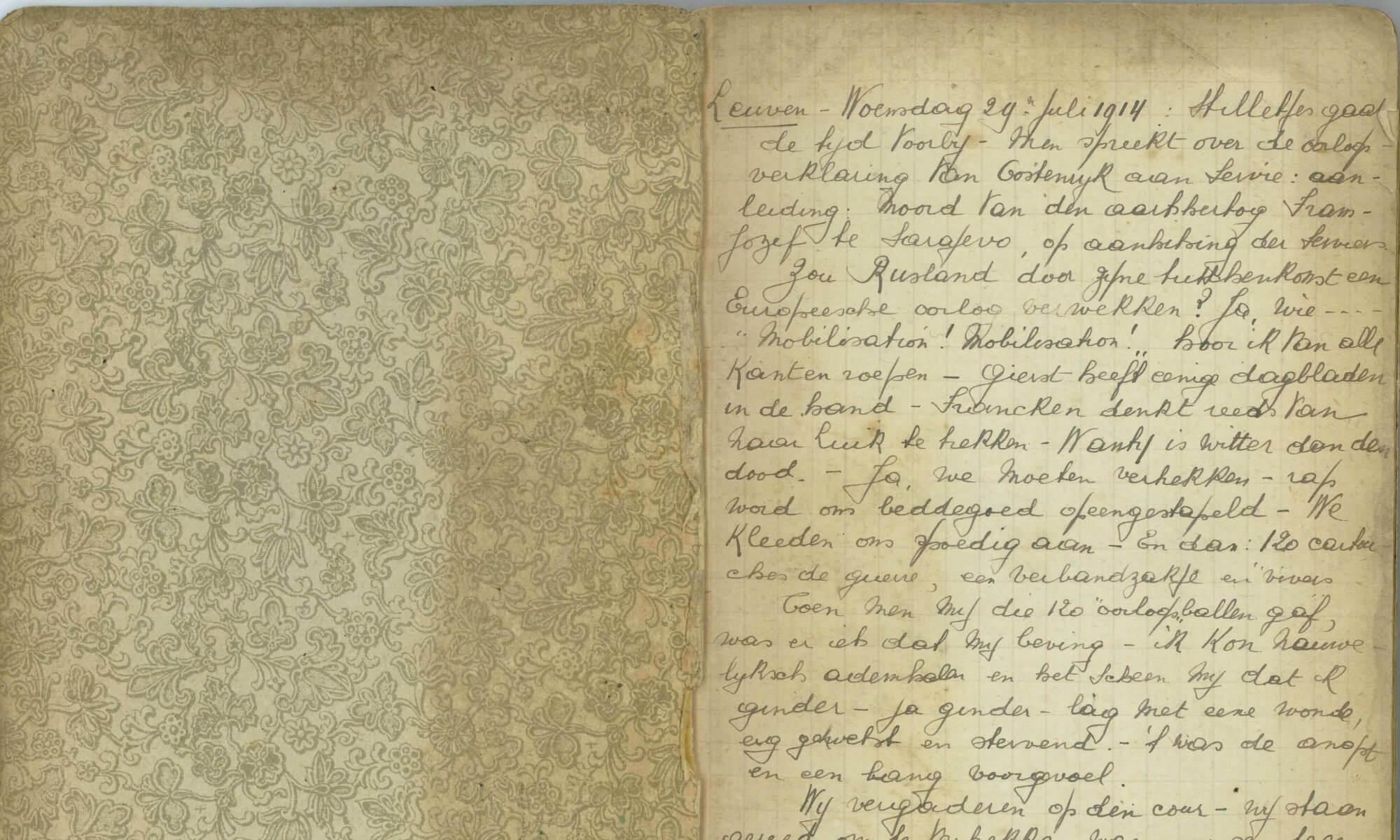 Het dagboek van kolonel Marcel Sodermans: een bijzonder verhaal